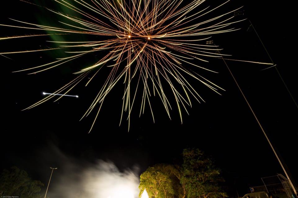 Fireworks. Photo © Gary Parsons