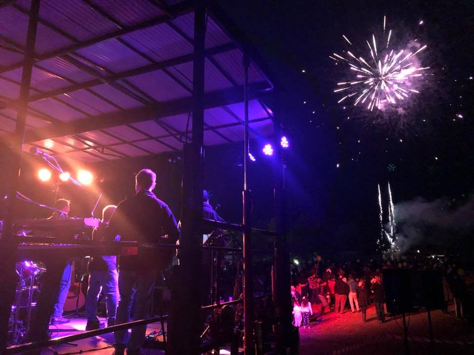 The fireworks and band Ministry of Rock