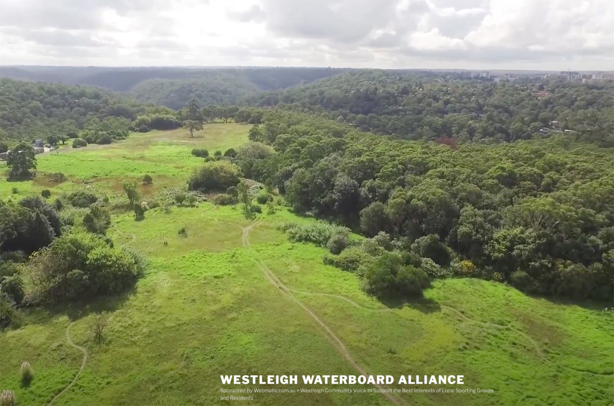 Westleigh water board is the the area now now know as Westleigh Park, 34 hectares of Sydney Water land located in Westleigh, NSW. The land was purchased by Hornsby Council from Sydney Water in 2015, exchanging June 2016 for $21 Million to be developed as public space for the community.